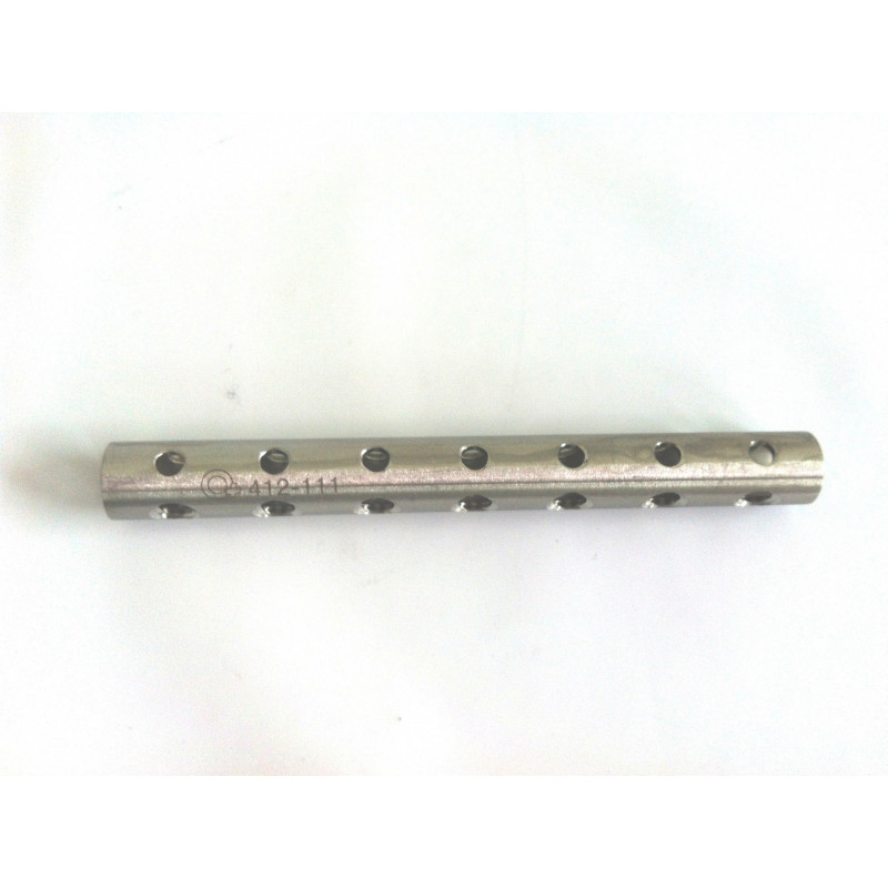 TUBE FIXATEUR EXTERNE DIA 12 110MM 7 TROUS (EXTERNAL FIXATOR TUBE DIA 12 110MM 7 HOLES)