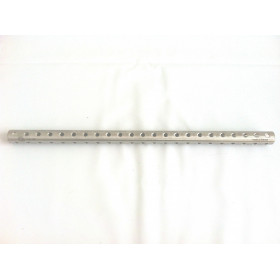 TUBE FIXATEUR EXTERNE DIA 18 350MM 23 TROUS (EXTERNAL FIXATOR TUBE DIA 18 350MM 23 HOLES)