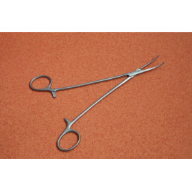 PINCE KOCHER A/G COURBE 22cm (KOCHER FORCEPS 1x2 TEETH CURVED 22cm)