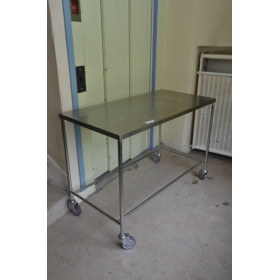 TABLE INOX DE BLOC