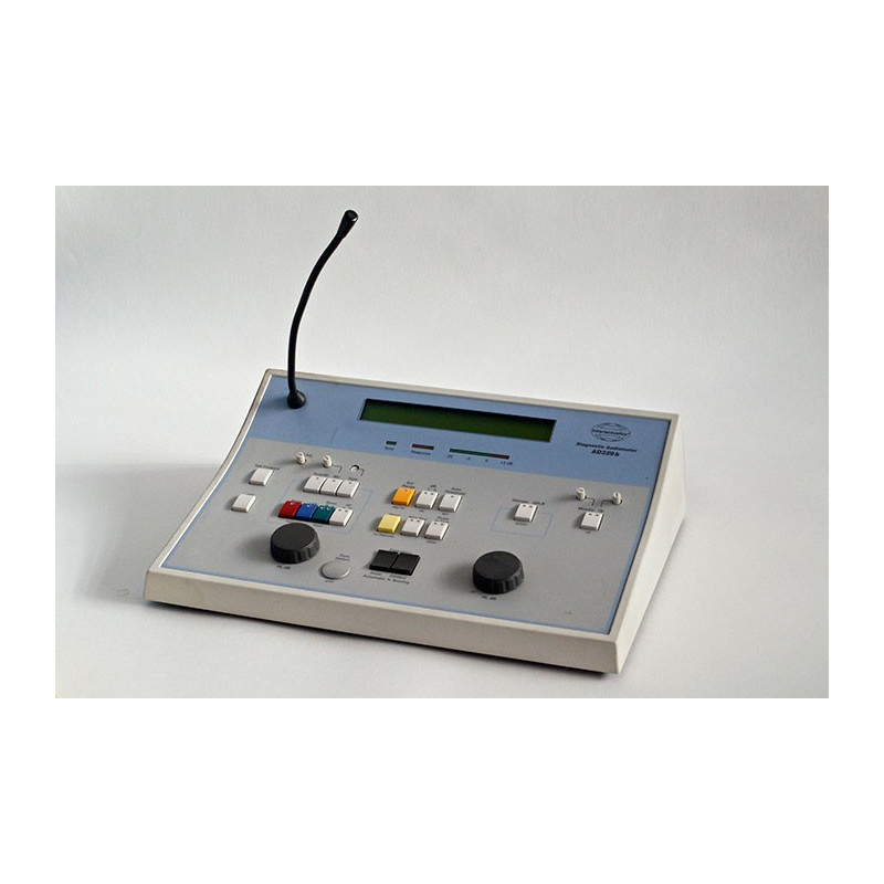 AUDIOMETRE DE DIAGNOSTIC INTERACCOUSTICS AD229B, AVEC CASQUE ET CONDUCTION OSSEUSE