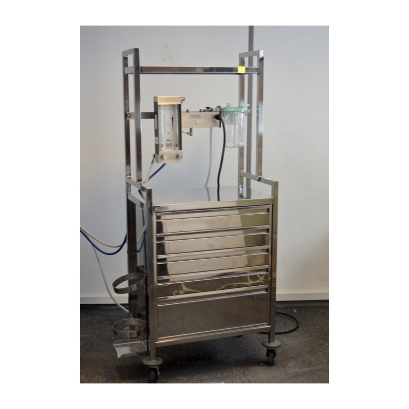 CHARIOT D'ANESTHESIE FRANCE HOPITAL