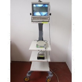 COLONNE ENDOSCOPIE DIAGNOSTIC OLYMPUS CAMERA OTVS, MEUBLE