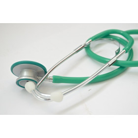 STETHOSCOPE DOUBLE PAVILLON SELECTSON COLOR VERT