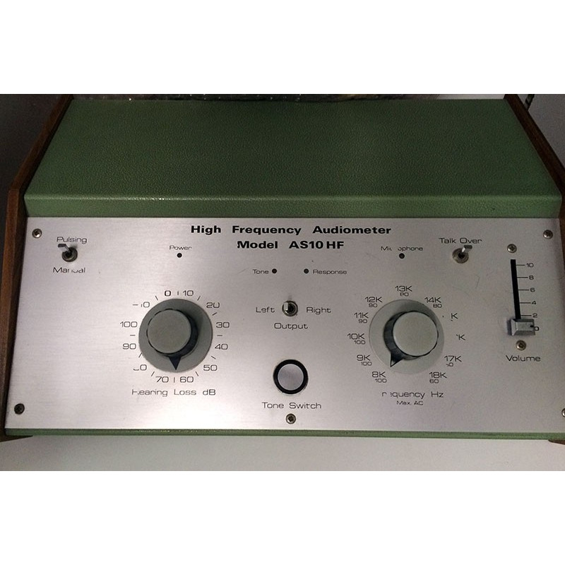 AUDIOMETRE HIGH FREQUENCY AS10HF