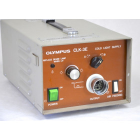 SOURCE DE LUMIERE FROIDE OLYMPUS A HALOGENE POUR GASTRO/COLOSCOPE OLYMPUS CLK-3E