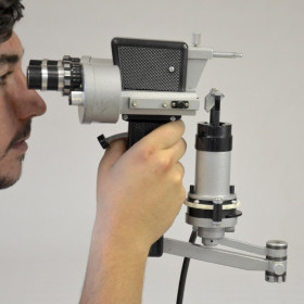 SLIT LAMP PORTABLE CLEMENT CLARK DIAG UNIT 1