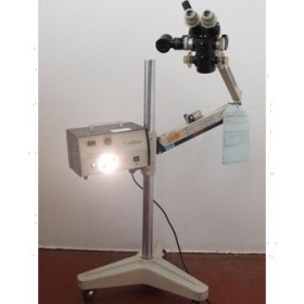 COLPOSCOPE CODMAN AV SOURCE LUMIERE SUR PIED MOBILE