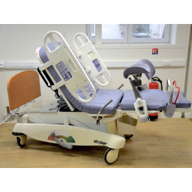 Stryker LD304 Birthing Bed With Stirrups and Controller