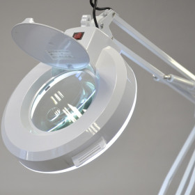 MAGNIFYING LAMP 5-8 DIOPTER LENS