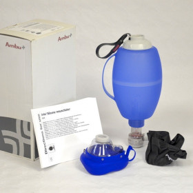 AMBU SILICON INSUFFLATOR WITH ADULT MASK SIZE 5