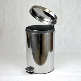 STAINLESS STEEL BIN 20 LITERS