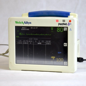 WELCH ALLYN PROPAC CS TRANSPORT AND EMERGENCY MONITOR