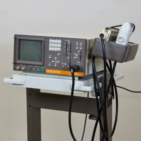 SIEMENS SONOLINE 1300 ULTRASOUND WITH 2 PROBES (LINEAR AND ENDO)