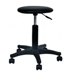 STOOL HEIGHT VARIABLE ON ROLLERS