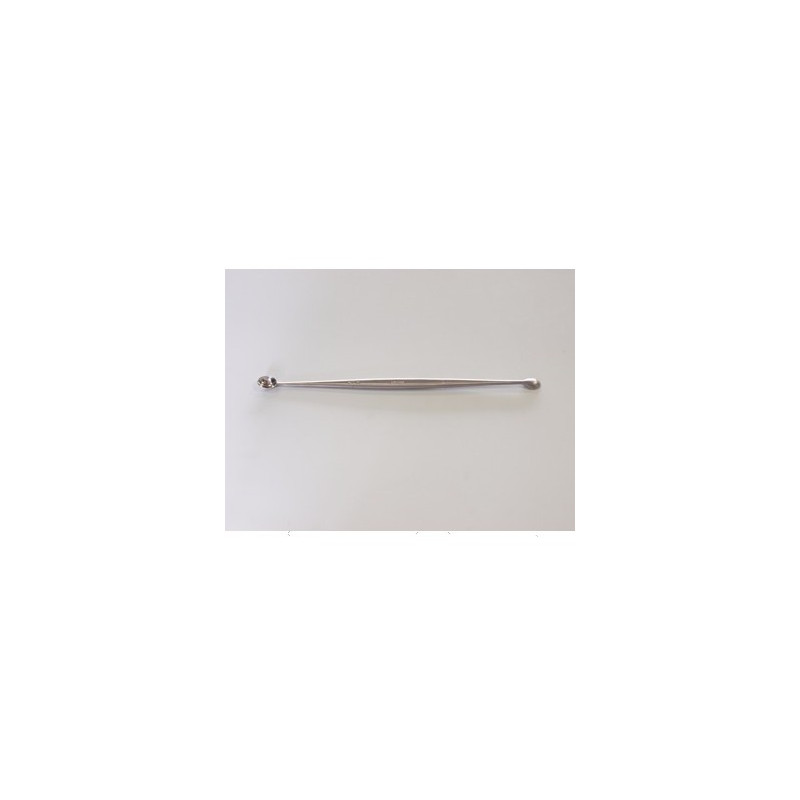 CURETTE DOUBLE 18CM INOX FRANCE
