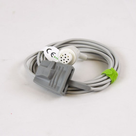 CABLE SENSOR SP02 ADULT SILICONE COMPATIBLE GE DATEX OHMEDA