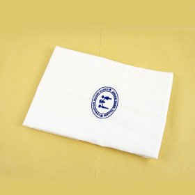 COTTON 45X45 CM POLYESTER PILLOW WITH YOUR LOGO