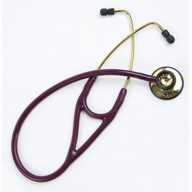 STETHOSCOPE DUAL HEAD IN GOLDEN BRASS