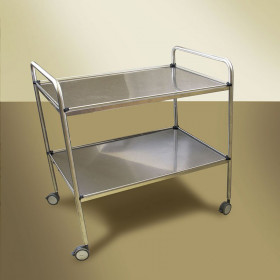 GUERIDON 1 TRAY WITH CASTORS