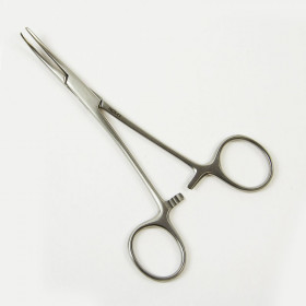PINCE MOSQUITO FORCEPS COURBES 14CM