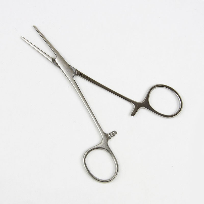 STRAIGHT KELLY FORCEPS 14cm