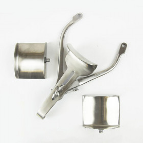 RICARD RETRACTOR WITH 3 VALVES 30MM