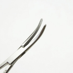 CRILE FORCEPS CURVED 14CM