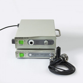 OLYMPUS ENDOSCOPY SET (CAMERA AND LIGHT SOURCE)