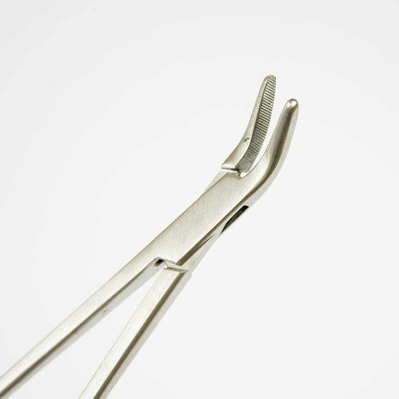 CURVED FINOCHIETTO NEEDLE HOLDER 26CM