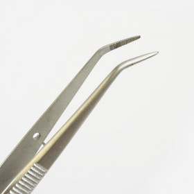 ANGULATED DISSECTING FORCEPS 13CM