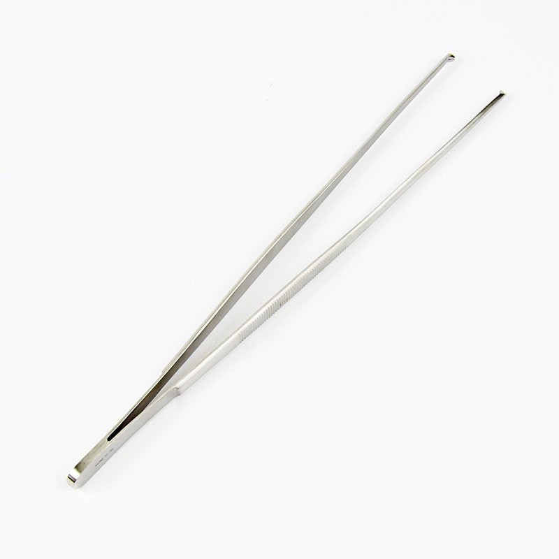 TISSUE FORCEPS 1X2 TEETH 25CM