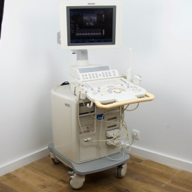 PHILIPS HD11XE ULTRASOUND WITH 4 PROBES AND FLAT SCREEN
