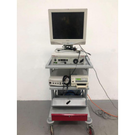 STRYKER STACK TROLLEY WITH STRYKER ENDOSCOPY 988I