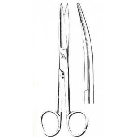 OPERATING SCISSORS S/S CURVED 16CM