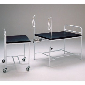 DELIVERY TABLE WITH MOVEABLE FRONT PART