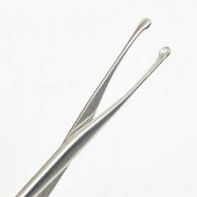 LUC NASAL FORCEPS SOLID  S/S 19CM