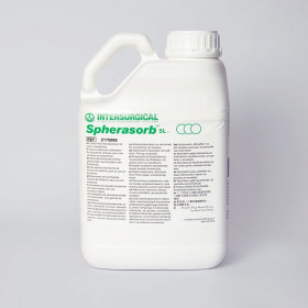 BIDON DE 5 LITRES ABSORBANTS DE CO2 D'INTERSURGICAL, SPHERASORB