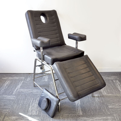 RECLINING CHAIR WITH 3 RECLINING PANELS, WITH ARMRESTS