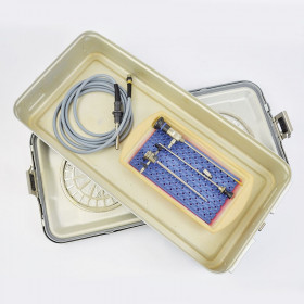 ARTHROSCOPY KIT WITH OPTICAL, SHIRT AND TROCARD