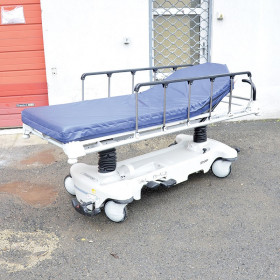 STRYKER HYDRAULIC PATIENT TROLLEY