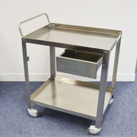 STAINLESS STEEL CARTS 70 x 50 x 80 CM