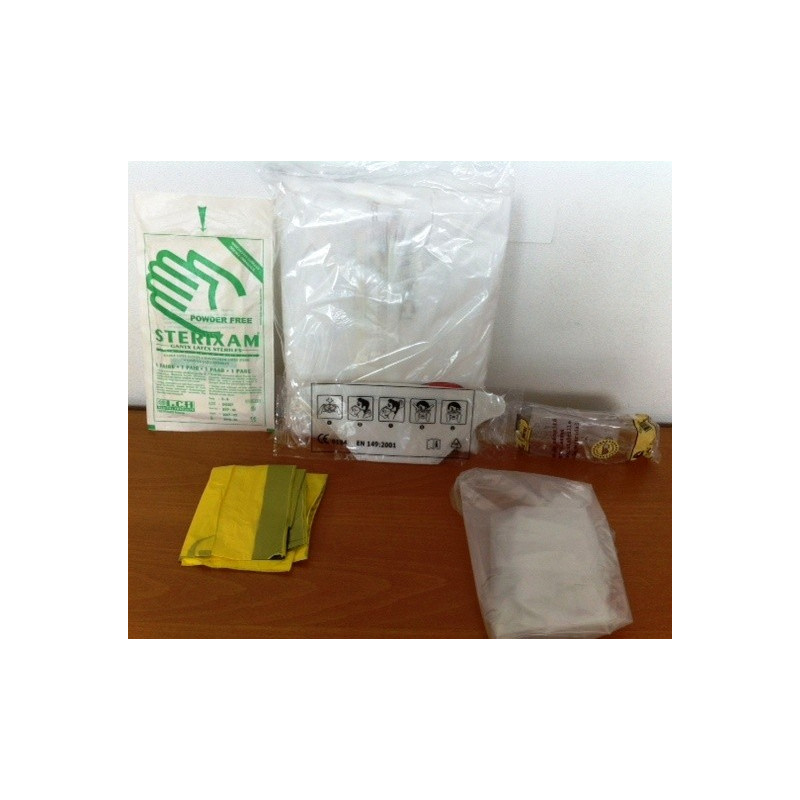 KIT DE PROTECTION CONTRE H5N1 GRIPPE AVIAIRE