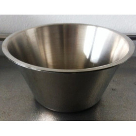 BASSINE INOX 250 MM CAPACITE