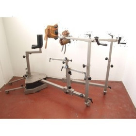 TABLE OPERATION HYDRAULIQUE ALM AVEC EXTENTION ORTHOPEDIQUE