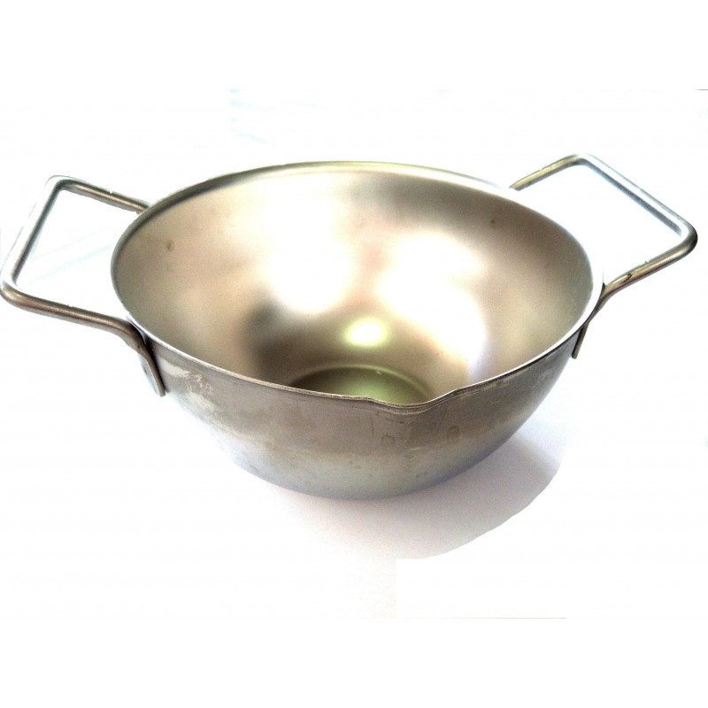 CUPULE INOX A BEC 16 CM (STAINLESS STEEL BOWL WITH BEAK 16CM)